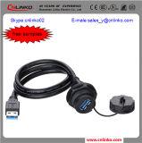 Connecteur de câble de prolongation du câble d'imprimeur d'USB Connector/USB3.0