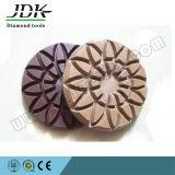 oppoetsende Stootkussens van de Vloer van de Diamant van 80mm de Klitband Gesteunde voor Concrete Malende Hulpmiddelen