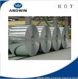 Zincalumeの鋼鉄コイルによって電流を通される鋼板