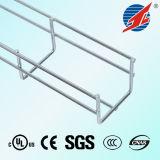 Chemin de câbles et accessoires de treillis métallique d'acier inoxydable