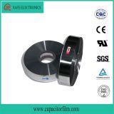 プラスチックフィルムのコンデンサーに使用する金属で処理されたポリエステル・フィルム