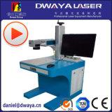 Naamplaatjes van het Metaal van de Verkoop van de lagere Prijs de Hete de Laser die van de Vezel van 30 Watts Machine merken