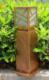 Lámpara impermeable del jardín de la luz del césped del LED