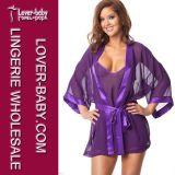Dormir desgaste de la noche de la ropa interior de las señoras del camisón (L27991)