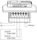 Termóstato mecánico de la calefacción del sitio para la calefacción de piso