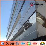 PET PVDF, das feuerbeständiges zusammengesetztes Material beschichtet (vom Grad B1, A2 feuerfest machen), AluminiumaCP