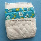 Pañal barato rápidamente seco del papel del bebé