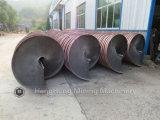 Densité extrayant le descendeur spiralé le minerai de lavage de tungstène/charbon/or/fer