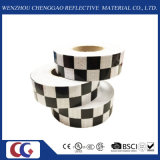 검정 또는 White Grid Design Reflective Conspicuity Tape (C3500-G)