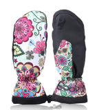 Calore Warm Ski Glove con Print Design Customized (5648465)