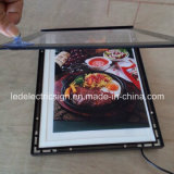Frame de aluminio Slim LED Light Box con LED Open Sign para LED Display