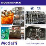 Equipo de producción de la tríada de la bebida automática del gas/máquina de relleno de la bebida