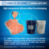 반투명 40 Shore Low Shrinkage를 가진 Rapid Prototyping Silicone Rubber