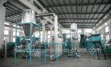 Machine à laver en plastique de rebut de bouteille de HDPE de qualité