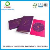 Cadre de empaquetage CD de cadre CD fait sur commande d'impression d'usine de la Chine