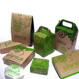 Imbiss-Nahrungsmittelkasten/einmaliger Papierkasten/Huhn-Kasten /Smack-Box