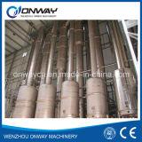Installation de traitement effluente titanique d'eaux résiduaires de crystalliseur d'évaporation de film de vide d'acier inoxydable