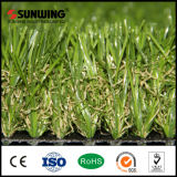 Jardín al aire libre U Shape Artificial Turf con Fireproof Test