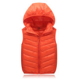 China Factory Stock Lot Good Quality Cheap Mens Polyeste Down Vest Down Jacket 602