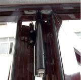 Дверь складчатости Kz208 термально пролома высокого качества алюминиевая
