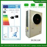 Der Evi Technologie--25c Messinstrument 12kw/19kw/35kw Winter-Haus-Fußboden-Heizungs-100~300sq Selbst-Entfrosten Spindel-aufgeteilten Inverter-Wärmepumpe-Warmwasserbereiter
