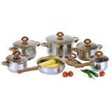 ステンレス鋼の調理器具の一定の調理の鍋のカセロールのフライパンS107