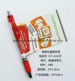 Crayon lecteur fait sur commande de drapeau avec le contact pour la promotion