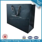Schwarzer Mattpapierluxuxbeutel für das Verpacken (GJ-bag120)
