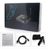 El mejor rectángulo de la base TV del patio de Amlogic S905 del androide 5.1 del precio X98
