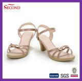 Frauen-Form-Leder-Fußbekleidung
