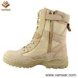 Goodyear Welt Military Desert Boots of Velcro Closure (WDB014)