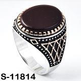Jóia da forma do anel do homem da prata 925 esterlina (… JPG S-11814)