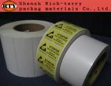 Farben-Papier-Kennsatz oder Aufkleber