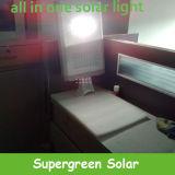 30W DEL a intégré tous dans un réverbère solaire