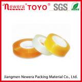 Cinta adhesiva de acrílico amarillenta de la base de la cinta de la cinta plástica BOPP de los efectos de escritorio