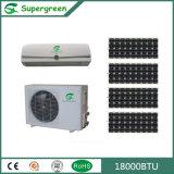 Type climatiseur solaire à la maison fixé au mur fendu d'Acdc d'utilisation hybride de pièce