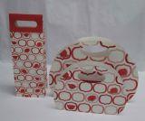 カスタム敏感で安く白い紙袋