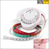 中国の製造の引き込み式の体脂肪のスケールの測定テープ(BMI-015)