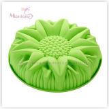 FDA u. LFGB Bakeware Silikon-Blumen-Kuchenform-Form