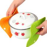 Colorir almofadas quentes do silicone para esteiras de tabela da cozinha