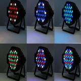 DMX512 LED 단계 빛 54X3w RGBW 동위 디스코 빛