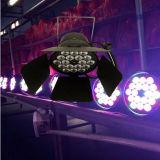 Het goedkope 1W RGB LEIDENE 18PCS Licht van het PARI
