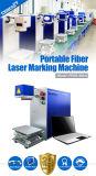 máquina de la marca del laser de la fibra de 10W 20W 30W para el metal/el plástico