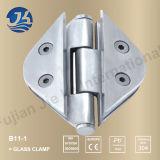 Alta calidad en acero inoxidable baño abrazadera de cristal del hardware B11-1