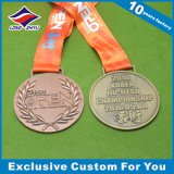 Edition spéciale 3D exécutant la médaille de Medalrunning avec la bande de collet