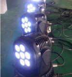 High Luminosité Mini 10W Moving Head Wash Éclairage DJ