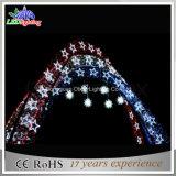 Il CE ha approvato l'arco di 3m LED attraverso gli indicatori luminosi di motivo della via LED