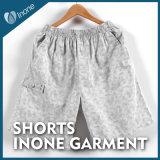 Inone 070 Mens nada Shorts ocasionais da placa das calças curtas