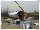 中国の製品の波形の排水渠の管