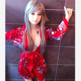 Muñeca de calidad superior del amor del estilo del Anime del tatuaje (los 145cm)